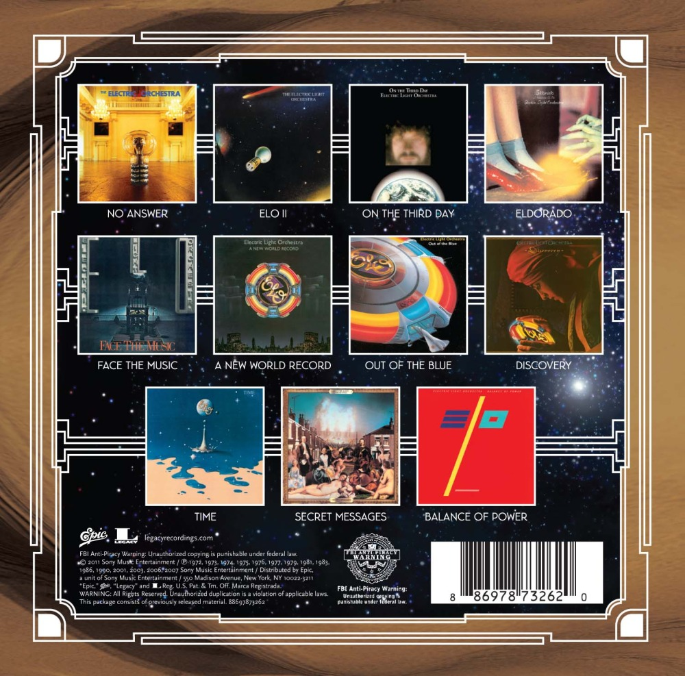 Electric Light Orchestra The Classic Albums Collection Cd